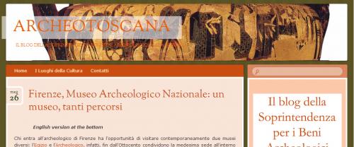 archeotoscana, blog soprintendenza archeologica toscana