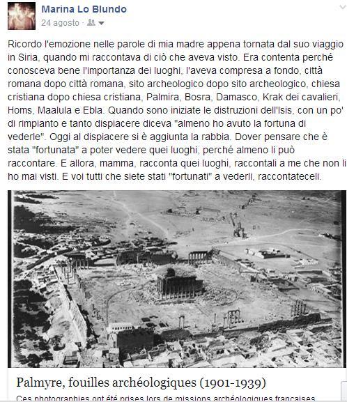 distruzione palmira