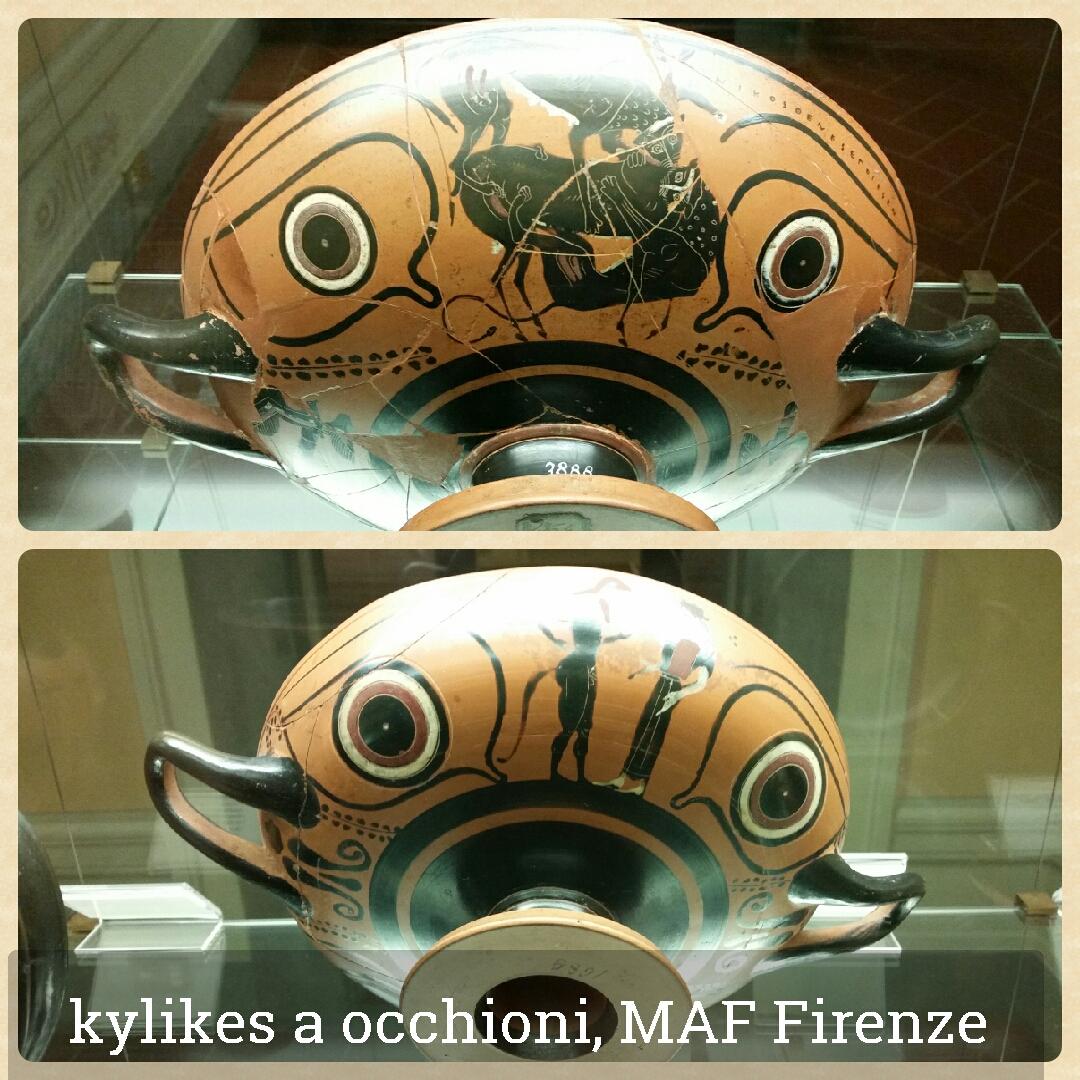 kylikes a occhioni dal Museo Archeologico Nazionale di Firenze