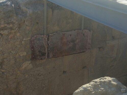 il luogo di culto alla dea Nemesi, nei sotterranei dell'anfiteatro